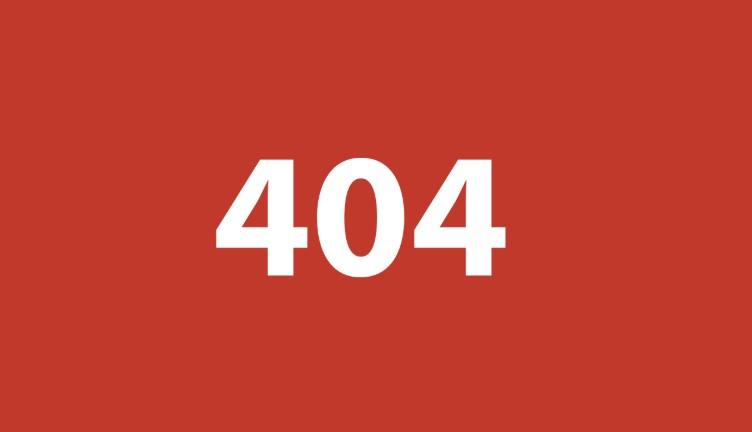 404 Error Nedir?